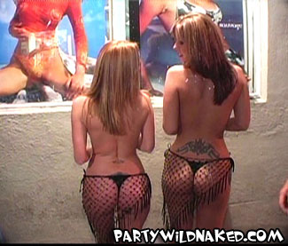 Beautiful Babes Bare Butts