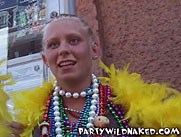 Mardi Gras College Girl Flashing