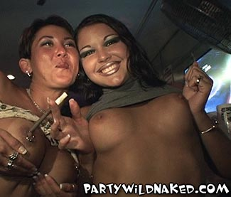 Naked Spring Break Girls