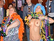 Mardi Gras Body Paint Parade Body Painted Girls